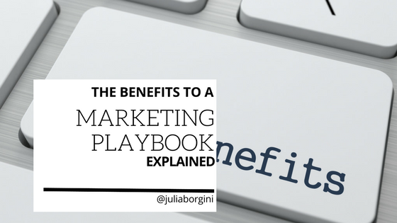 The big benefits of a tech marketing playbook
