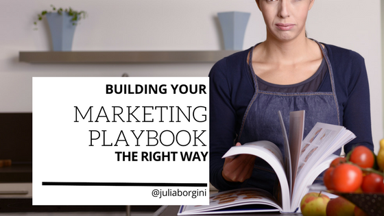 How to build & arrange your Tech Marketing Playbook