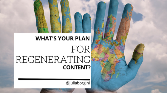 What's your plan for Regenerating Content? spacebarpress.com/blog